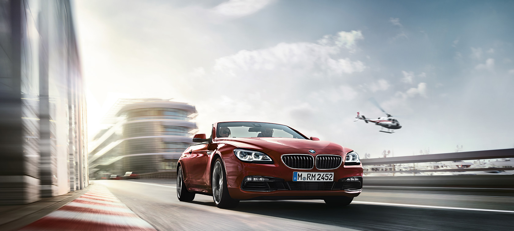 Driving dynamics & efficiency of the BMW 6 Series Convertible