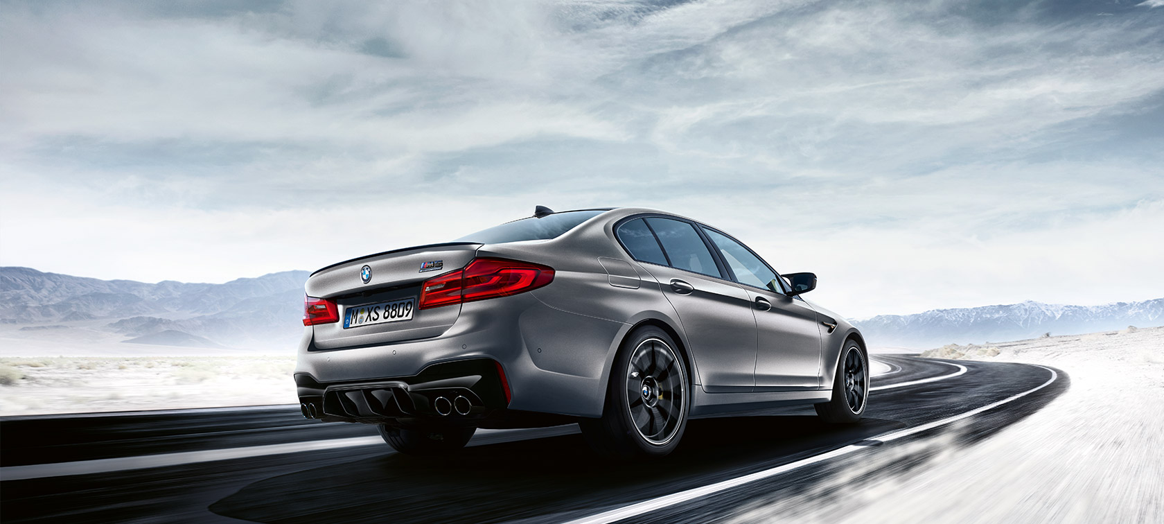 BMW M5 Competition details and Daten.
