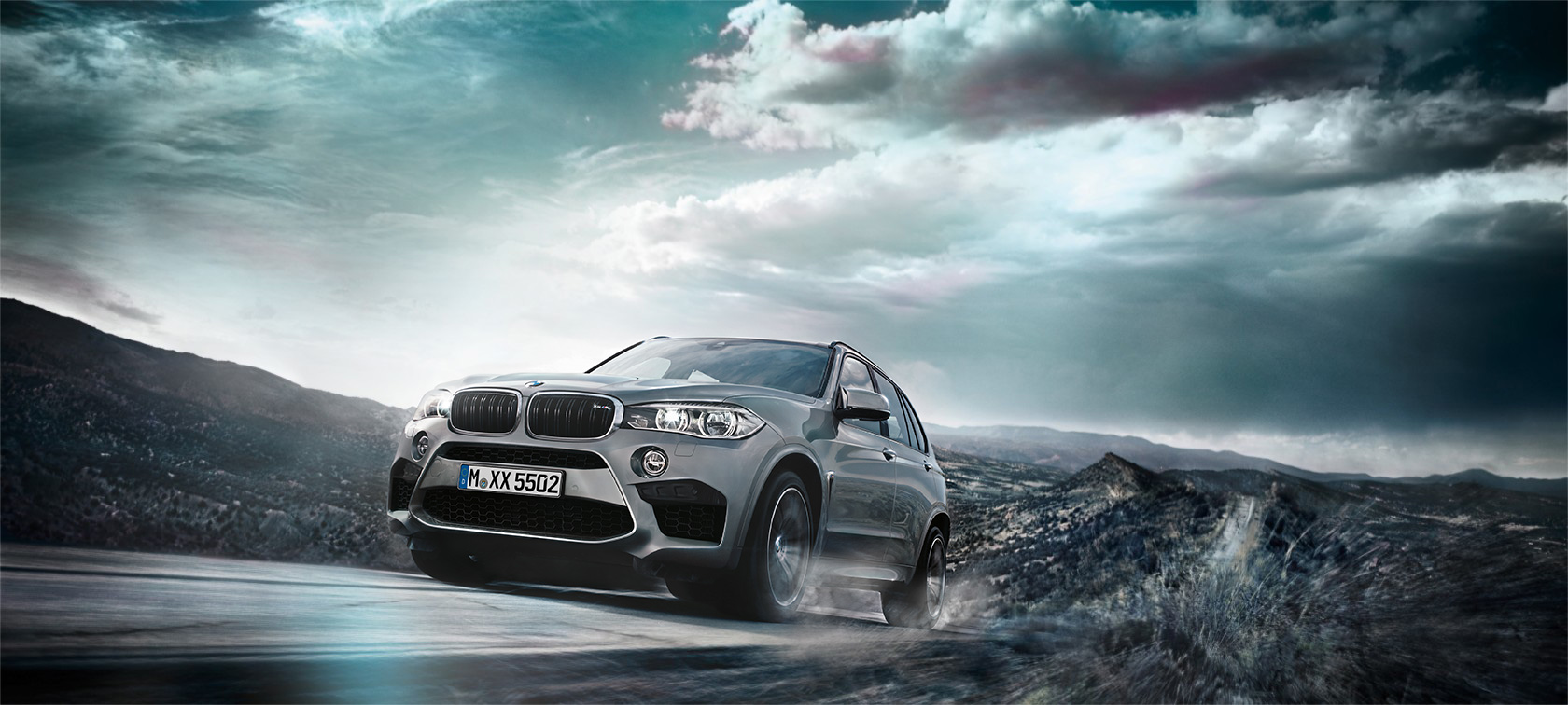 The M design of the BMW X5 M