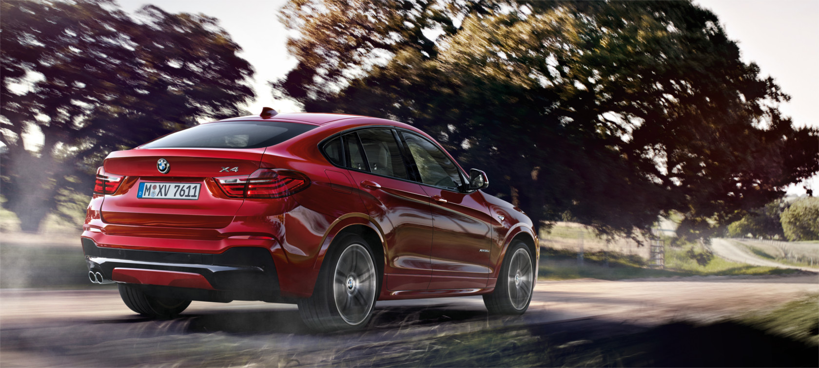 The driving dynamics of the BMW X4