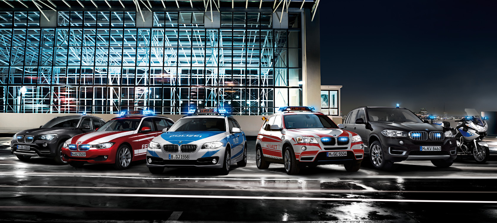 BMW Authority Vehicles