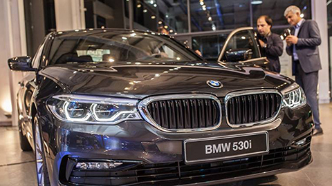 THE NEW BMW 5 SERIES LAUNCH EVENT